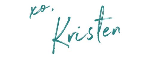 xo, Kristen