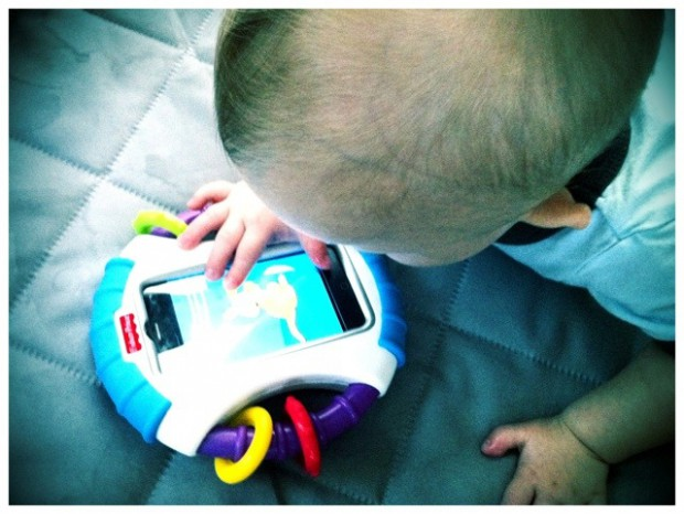 Should my baby play with my iPhone an ethical parenting question // MyMommaToldMe.com