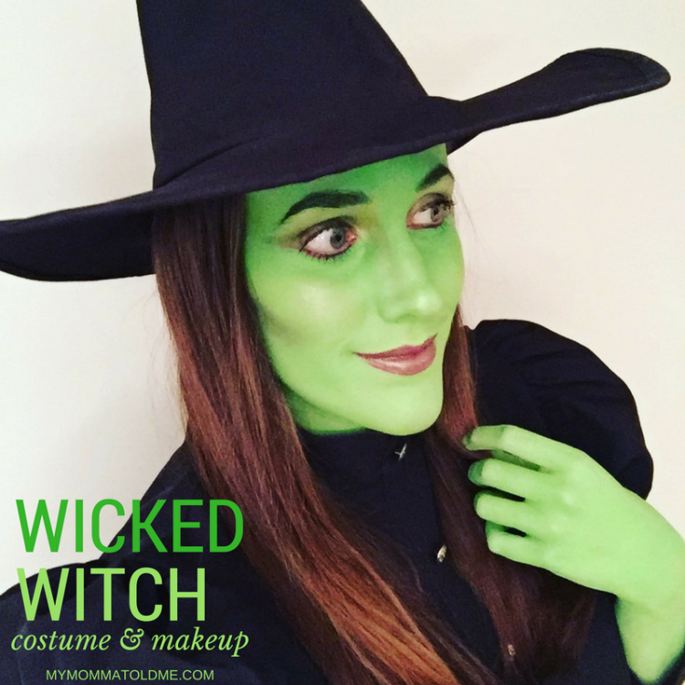 Witch Halloween Makeup Easy.Wicked Witch Costume Makeup Hello Nutritarian