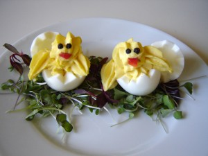 Deviled Egg Chicks For Kids Hello Nutritarian