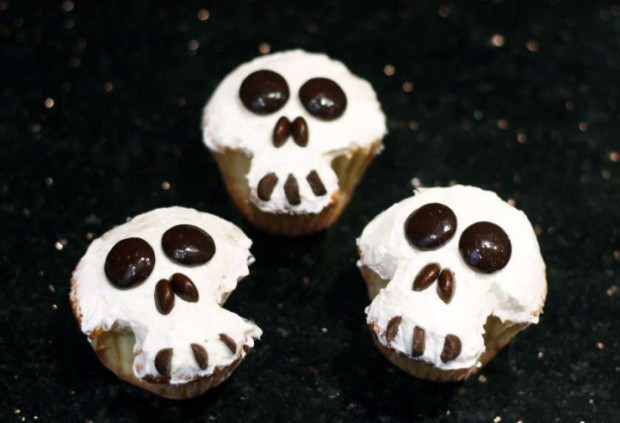 Easy Cupcake Decorating Ideas Halloween