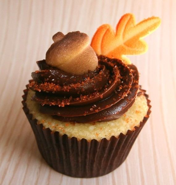 Thankful For Thanksgiving Cupcakes Hello Nutritarian - Cupcakes for thanksgiving decorating ideas