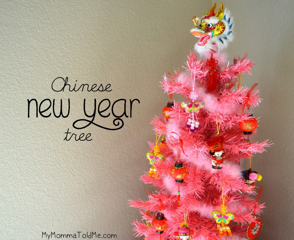 Chinese new year tree hello nutritarian for Interior decoration for new year