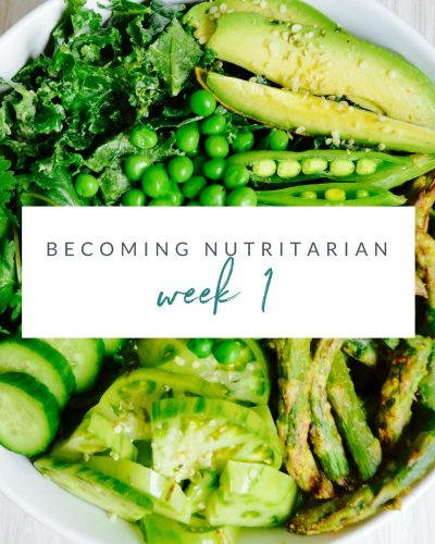 Week 1 Becoming nutritarian weight loss journal Dr Furhman Eat to Live 6 week plan Dr Greger How not to Die Diet no oil no added salt reverse diabetes