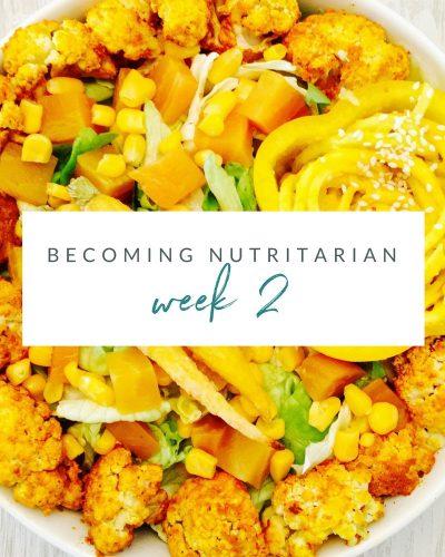 Week 2 Becoming nutritarian weight loss journal Dr Furhman Eat to Live 6 week plan Dr Greger How not to Die Diet no oil reverse diabetes