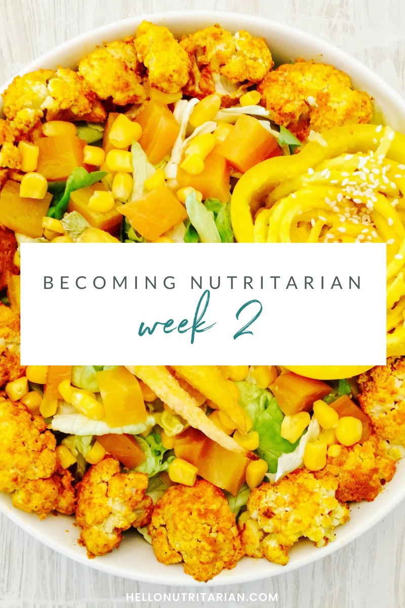Week 2 Becoming nutritarian weight loss journal Dr Furhman Eat to Live 6 week plan Dr Greger How not to Die Diet no oil reverse diabetes