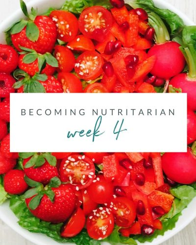 Week 4 Becoming nutritarian weight loss journal Dr Furhman Eat to Live 6 week plan Dr Greger How not to Die Diet no oil no added salt reverse diabetes