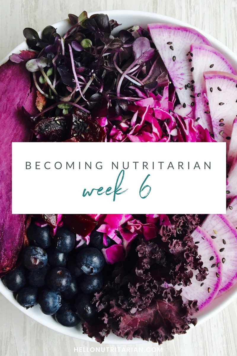 Week 6 Becoming nutritarian weight loss journal Dr Furhman Eat to Live 6 week plan Dr Greger How not to Die Diet no oil no added salt reverse diabetes