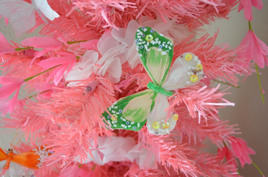 Pink Spring Tree decorations