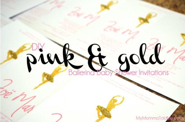 Diy ballerina baby shower invitations hello nutritarian diy ballerina baby shower invitations filmwisefo
