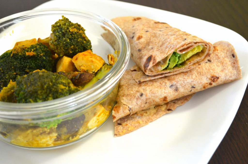 Easy Eat to Live Nutritarian Wrap for Dinner on Day 3 // MyMommaToldMe.com