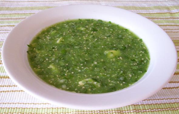 Salsa Fresca de Tomatillo con Aguacate examiner