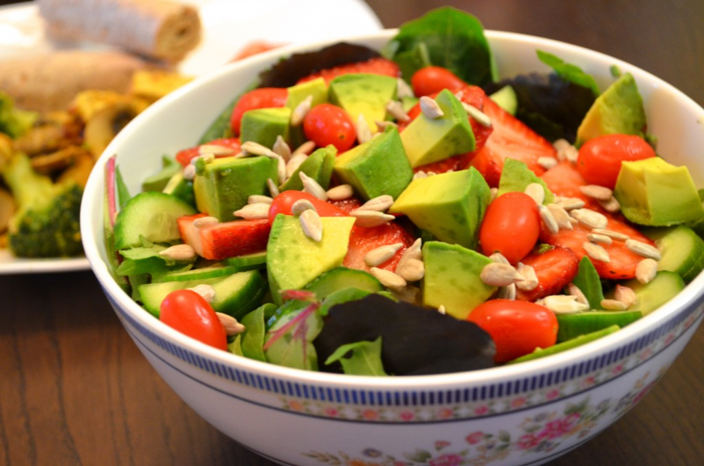 What to eat for Eat to Live Nutritarian dinner day 2 :: MyMommaToldMe.com