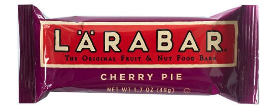 lara bar cherry pie nutritarian