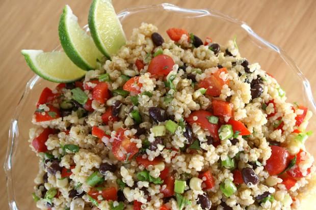 mexican quinoa salad The Garden Grazer