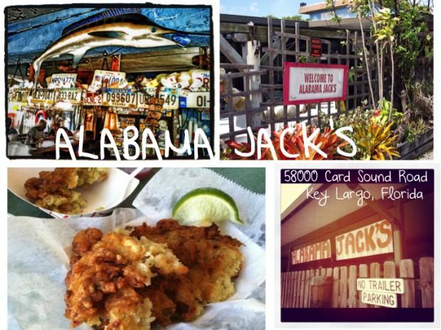 Best Places to eat in South Florida the keys Alabama Jacks Key Largo Florida