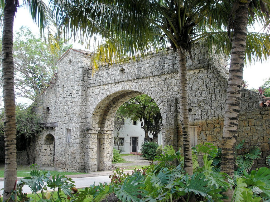 Alhambra Entry Arch Coral Gables
