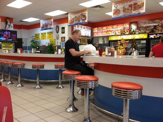 El Rey de las Fritas Little Havana Miami Interior