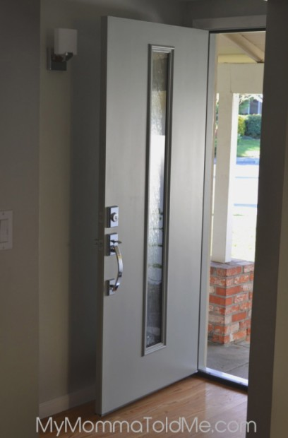 Momma 39 s got a brand new door hello nutritarian - Mid century front door ...