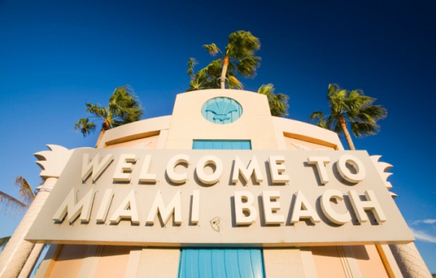 places to visit in miami welcome to miami beach sign