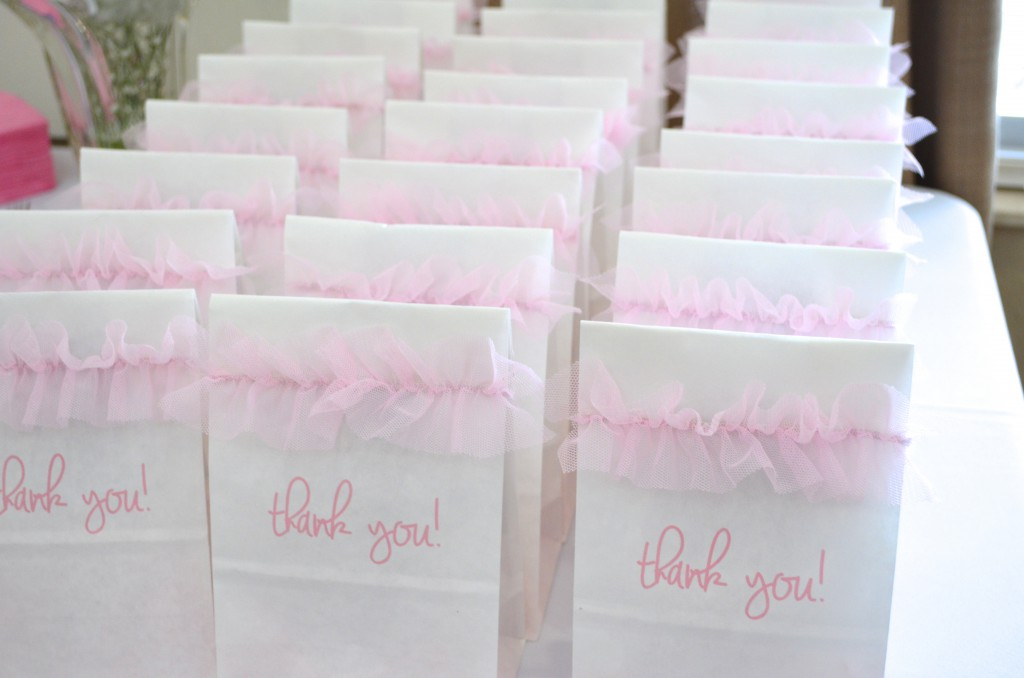 Easy to make goody bags for baby girl shower or birthday // MyMommaToldMe.com