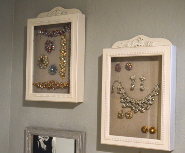 Easy Jewelry Display Idea Stella And Dot Trunk Show Ideas Vintage Costume Collection Mymommatoldme