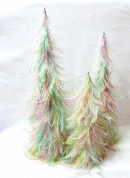 etsy easter finds feather Easter trees by suchprettythings