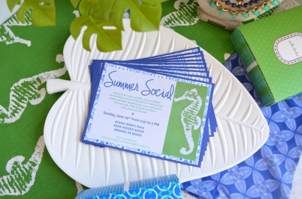 Summer Social Stella and Dot invitations and trunk show ideas MyMommaToldMe.com
