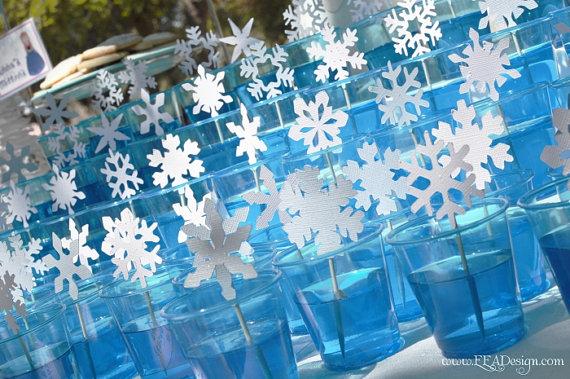 frozen birthday party ideas   hello nutritarian Frozen Decoration Ideas