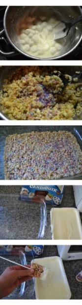 Frozen rice krispie treat pops recipe tutorial MyMommaToldMe.com