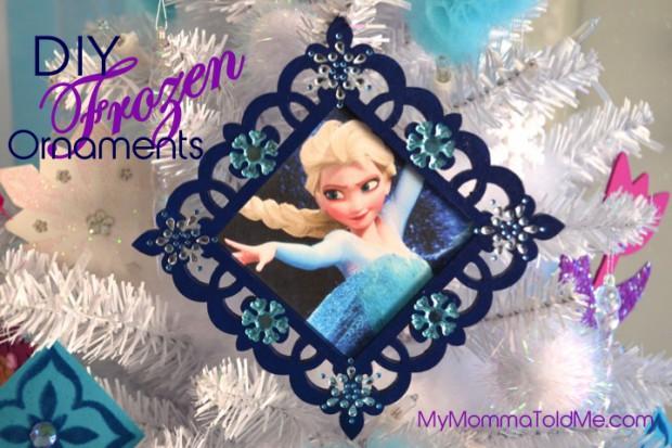 Disney Frozen Christmas Tree Ornament Tutorial