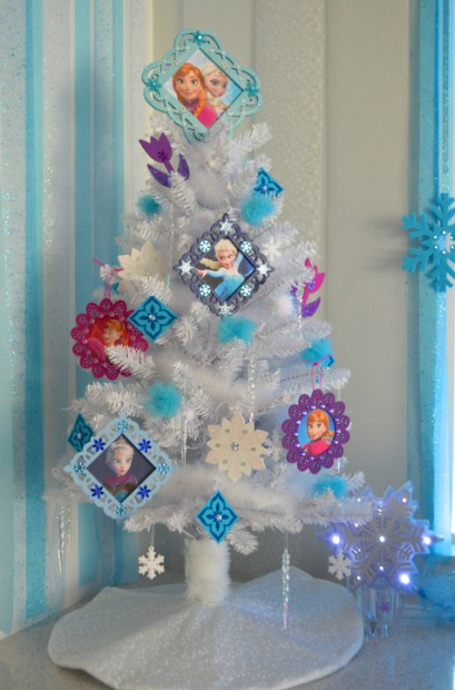disney frozen christmas small white christmas tree tree by mymommatoldmecom