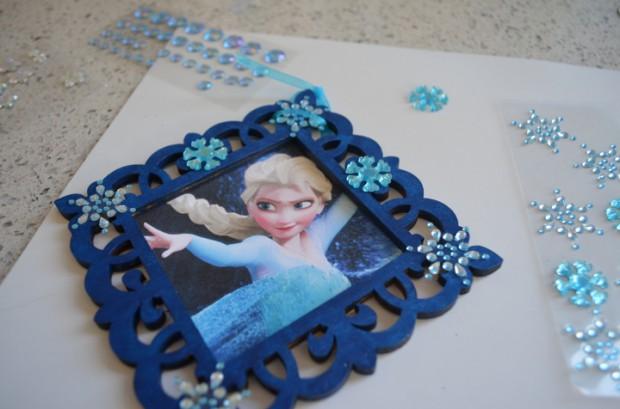 Frozen Elsa Christmas Ornament Tutorial MyMommaToldMe.com