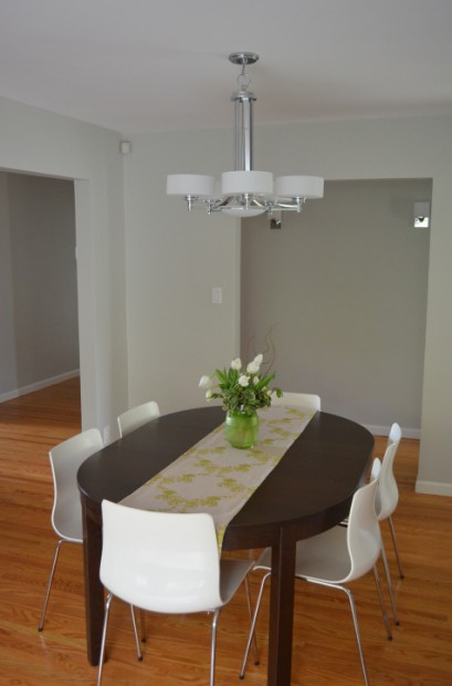 Modern Dining Room Light Fixture Makeover Hello Nutritarian