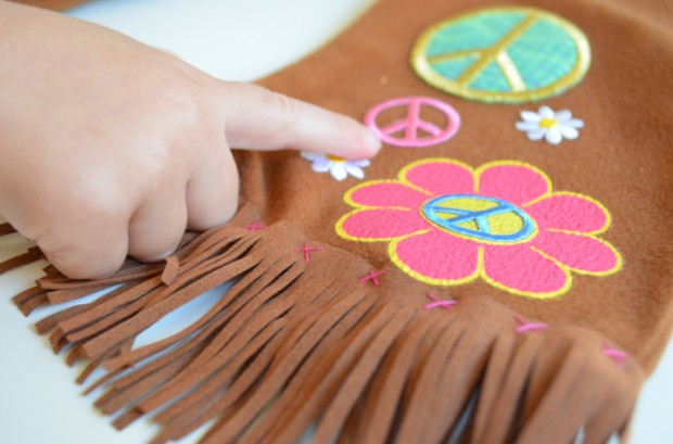 Adding details to a store bought halloween costume MyMommaToldMe.com