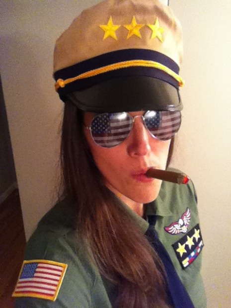 Women's Army Halloween Costume General Mom Halloween Costume MyMommaToldMe.com