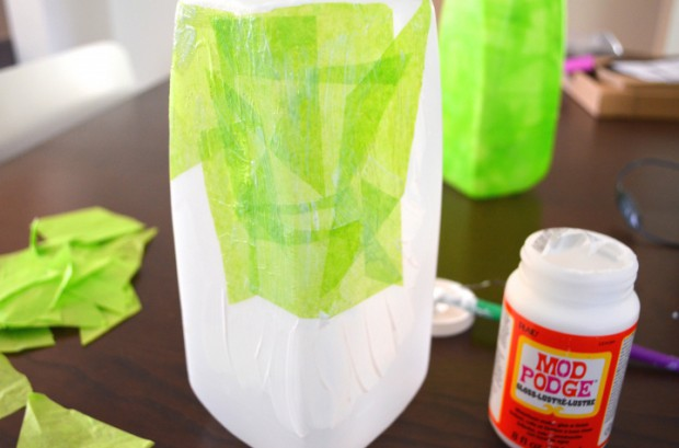 Halloween witch lantern craft tutorial modge podge MyMommaToldMe.com