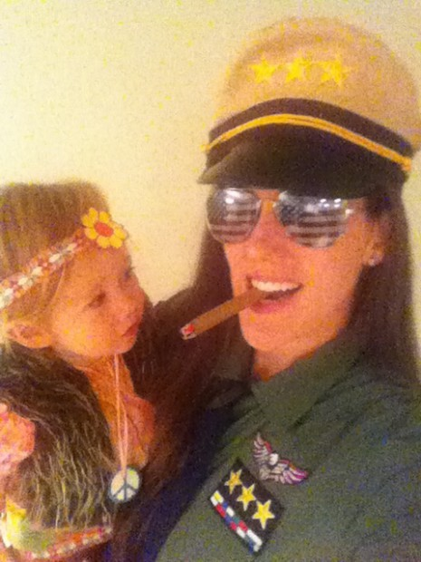 The hippie and the general halloween costume MyMommaToldMe.com
