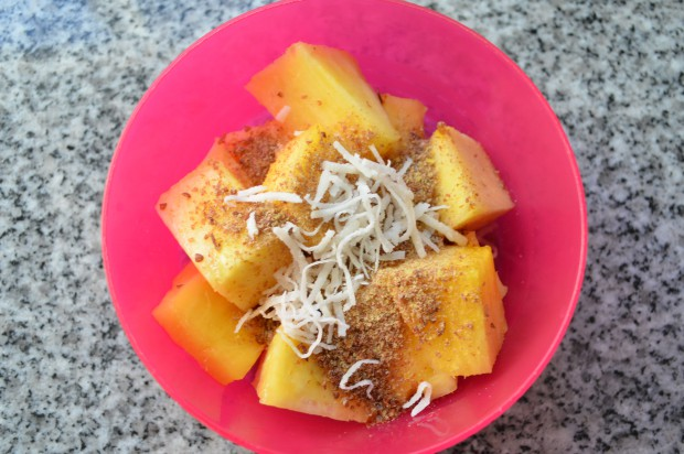 What to eat for breakfast Eat to Live Nutritarian Day 37 MyMommaToldMe.com