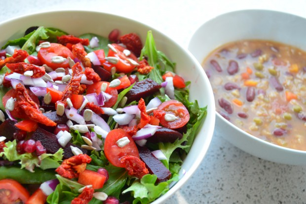 What to eat for dinner on day 38 of Dr Fuhrman eat to live nutritarian plan MyMommaToldMe.com