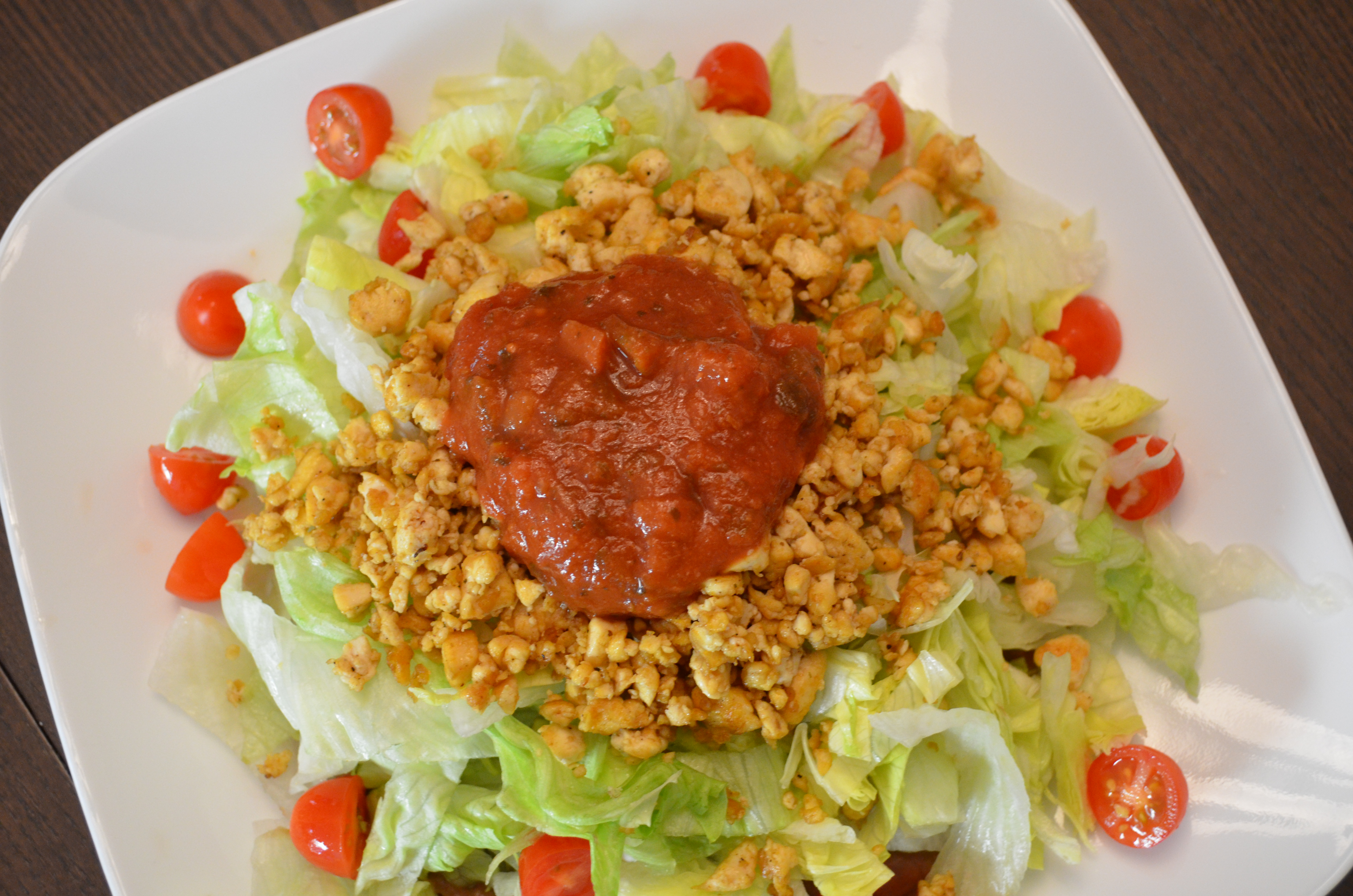 Dr Fuhrman Eat to Live Nutritarian Diet Mexican Salad Lunch Day 44 MyMommaToldMe.com