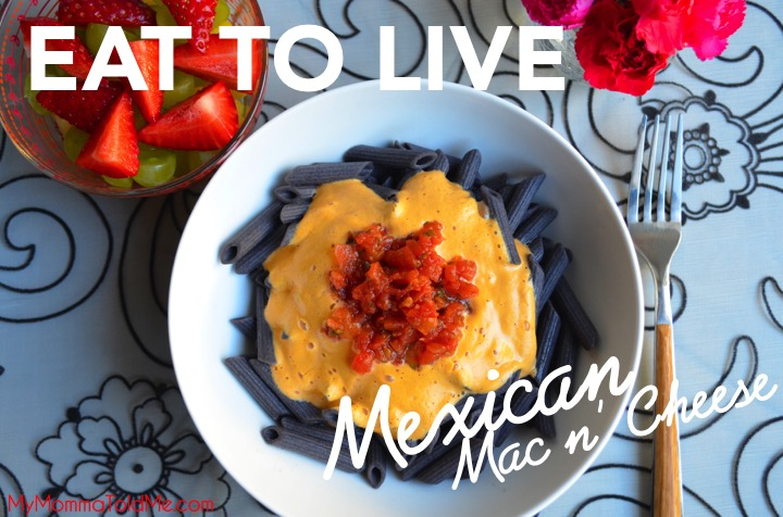 Eat to Live Nutritarian Mexican Mac N Cheese Recipe