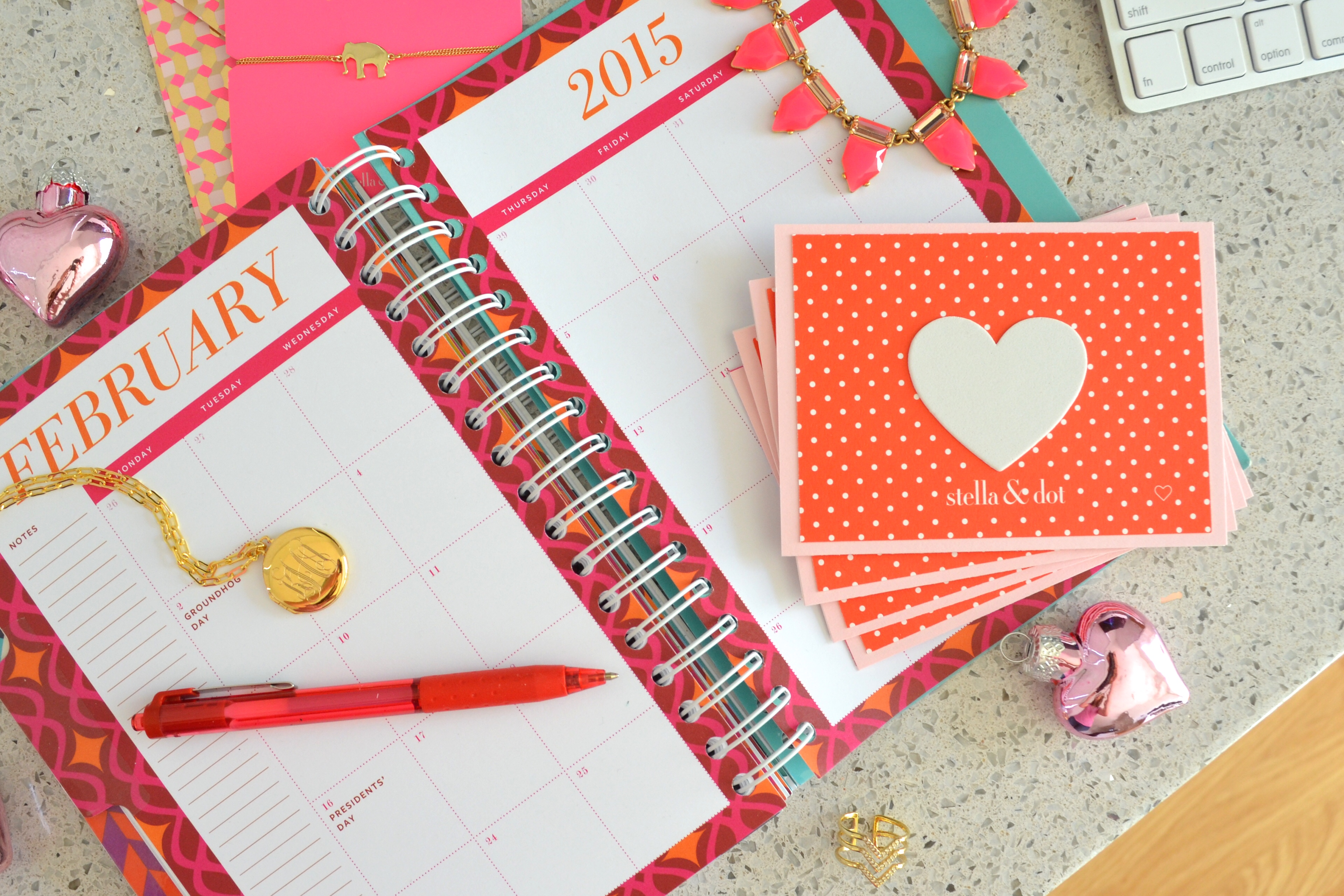 Make your own Stella & Dot note cards for Valentines Day by MyMommaToldMe.com