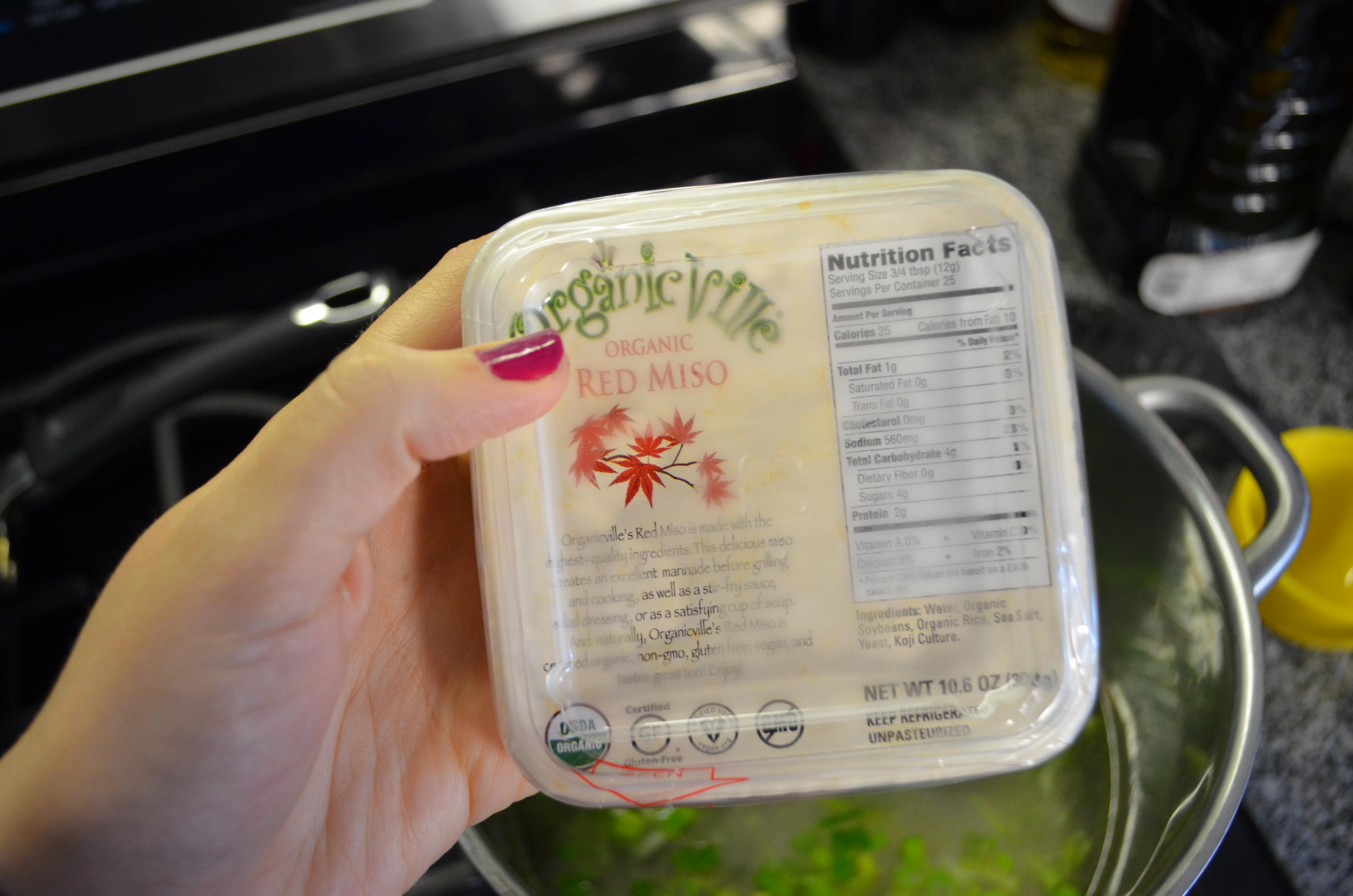 Red Miso paste Vegan Miso Soup recipe MyMommaToldMe.com