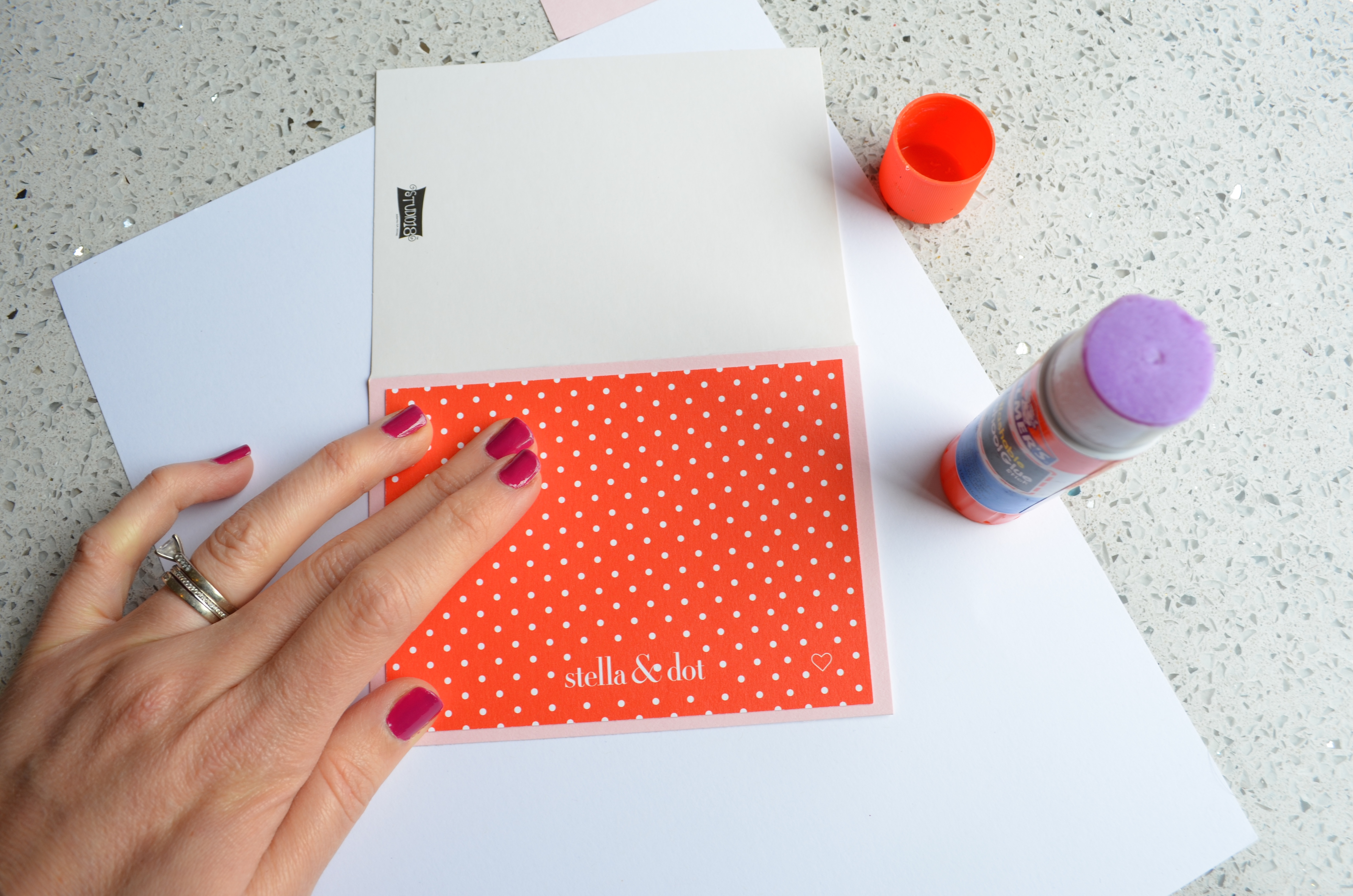 Stella and Dot Note Cards Easy DIY MyMommaToldMe.com
