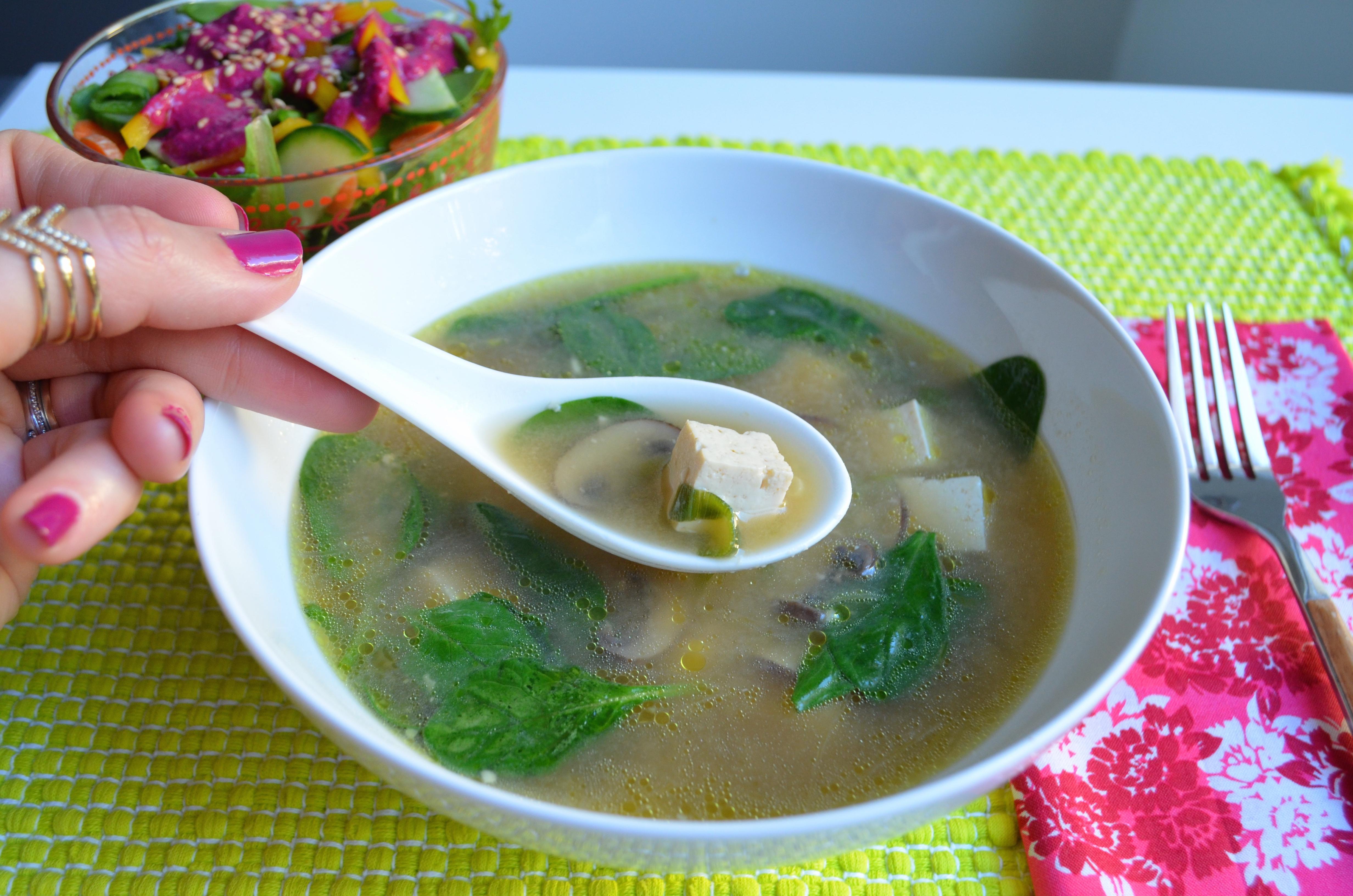 Vegan Miso Soup Recipe MyMommaToldMe.com