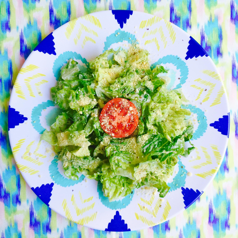 Vegan Caesar Salad Recipe MyMommaToldMe.com