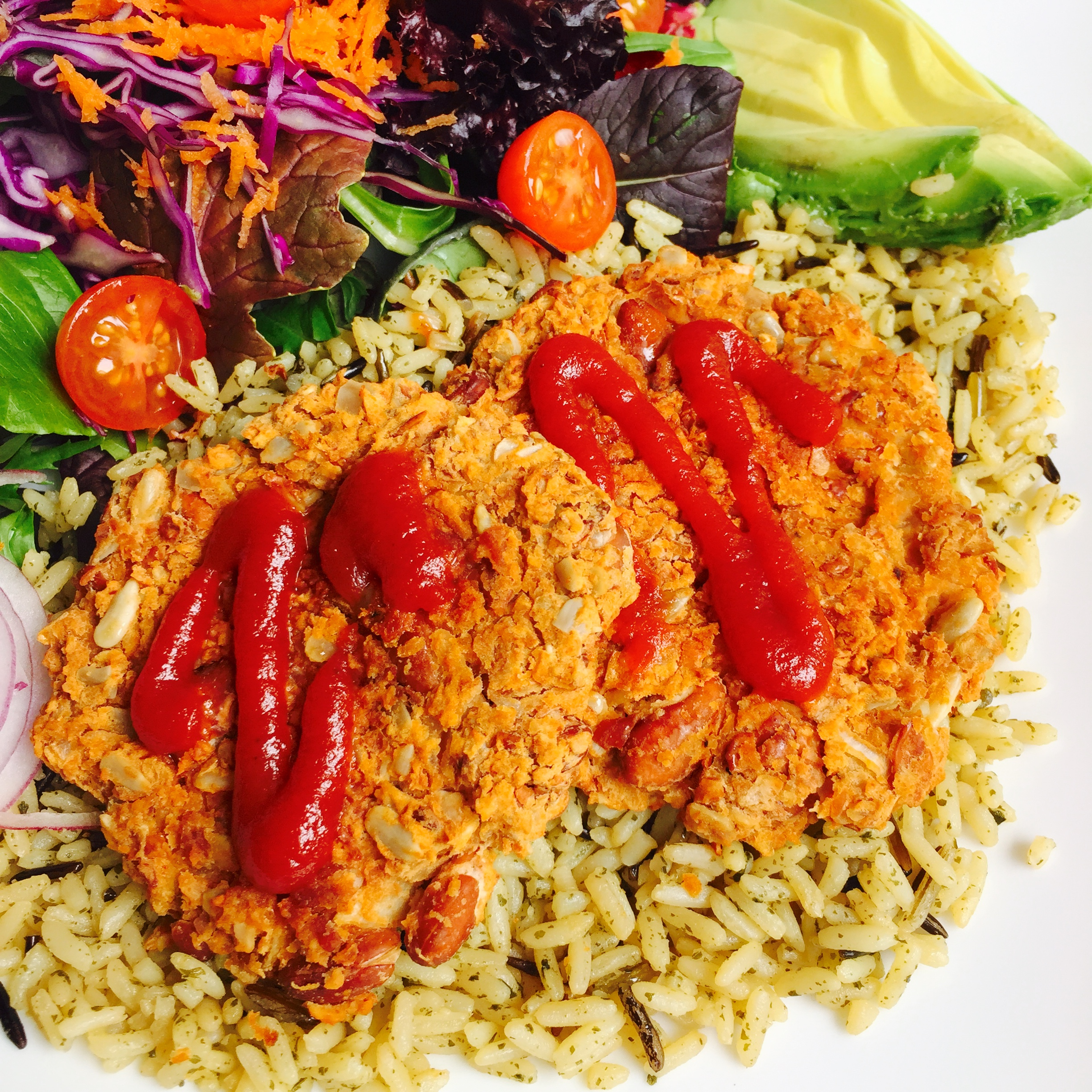 Dr Fuhrman Eat to Live Program Recipe Simple Bean Burgers from Eat to Live book by MyMommaToldMe.com