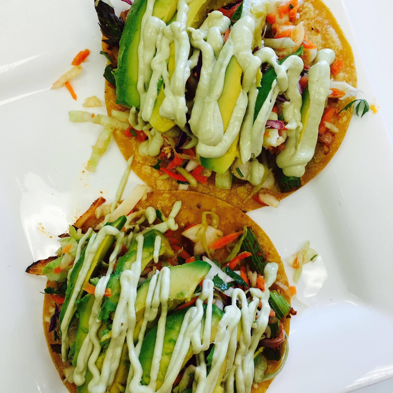 Baangan Roasted Chipotle Asparagus Tacos recipe Inspiration MyMommaToldMe.com