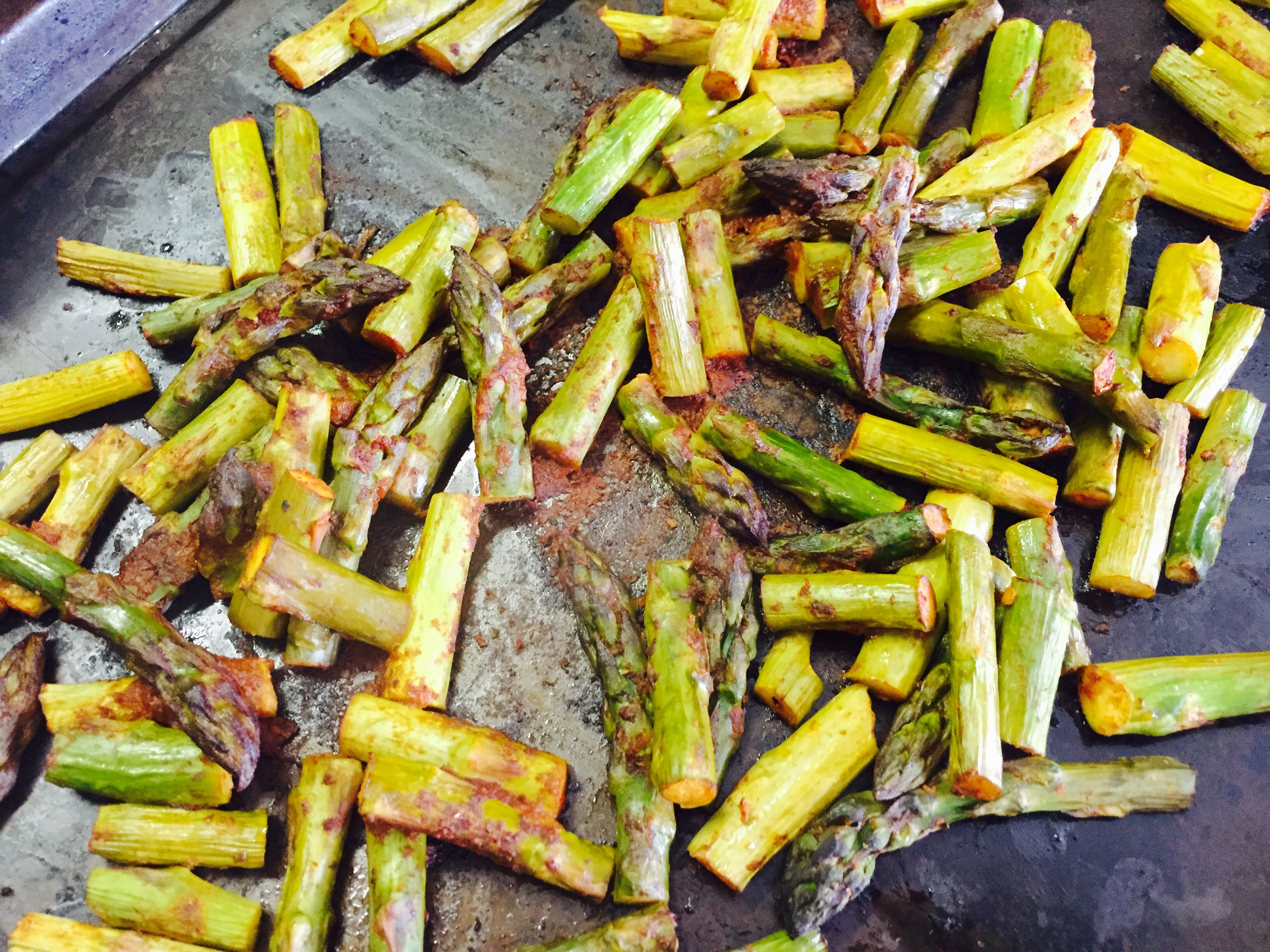 Roasted Chipotle Asparagus Taco Recipe